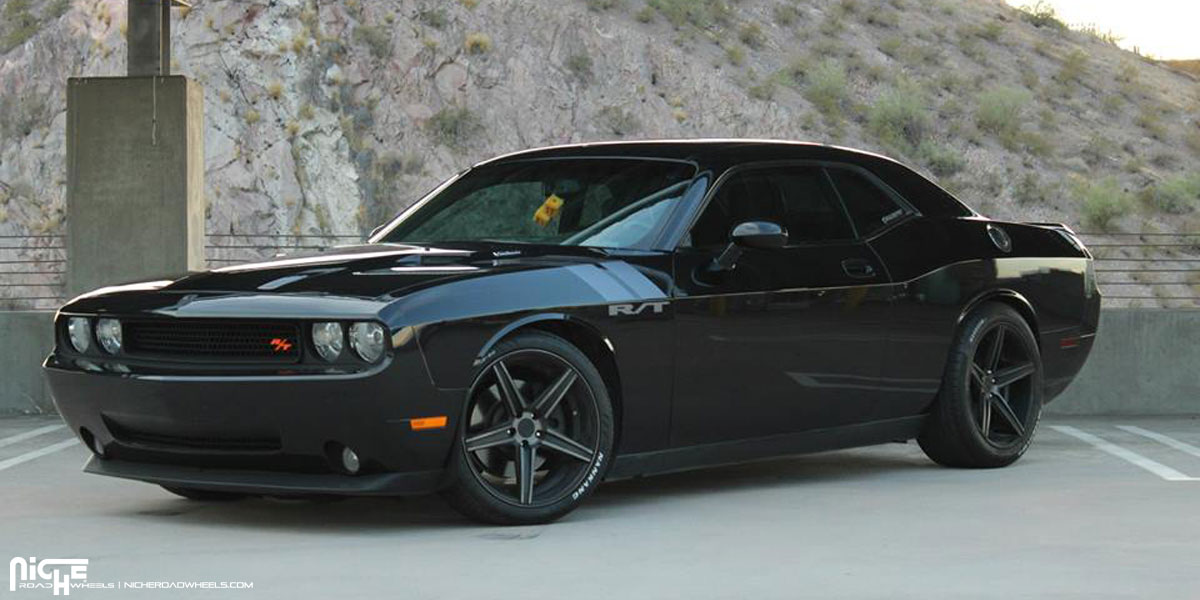 Dodge Challenger Custom Wheels Niche Apex M126 20x8 5