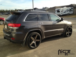 Jeep Grand Cherokee tire size