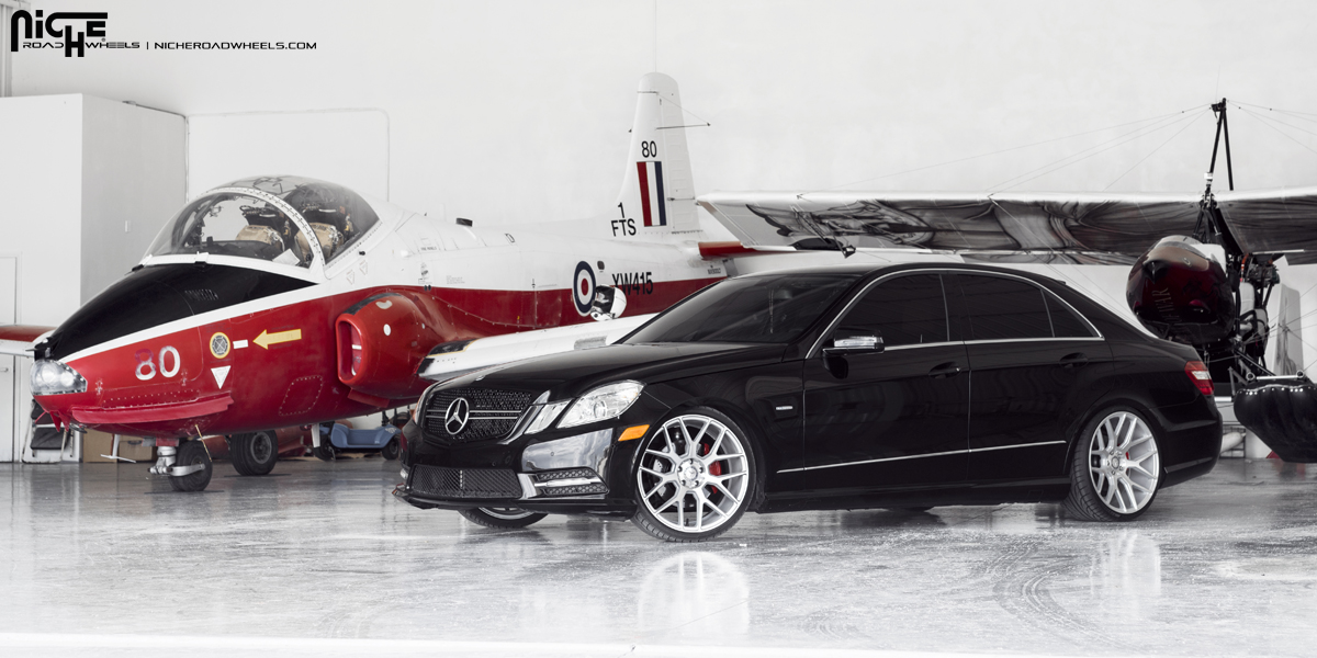 mercedes benz e class custom wheels niche intake m160. Black Bedroom Furniture Sets. Home Design Ideas