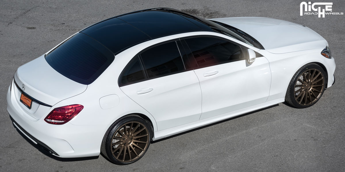 Mercedes benz c class custom wheels niche form m158 20x8 for Mercedes benz c300 tire size