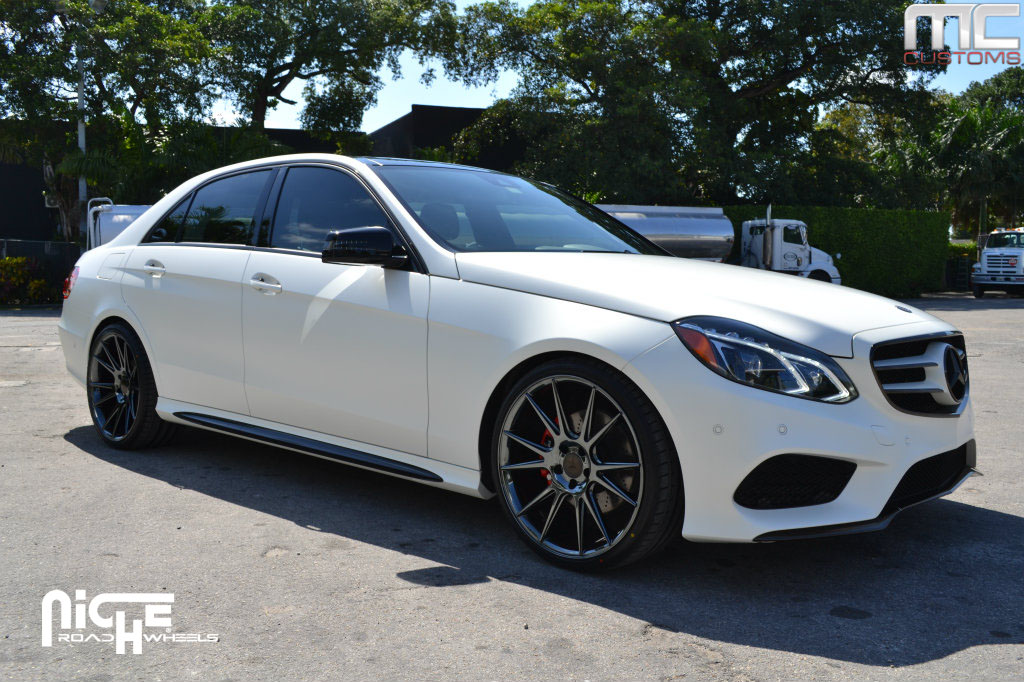 mercedes benz e class custom wheels niche vicenza m154