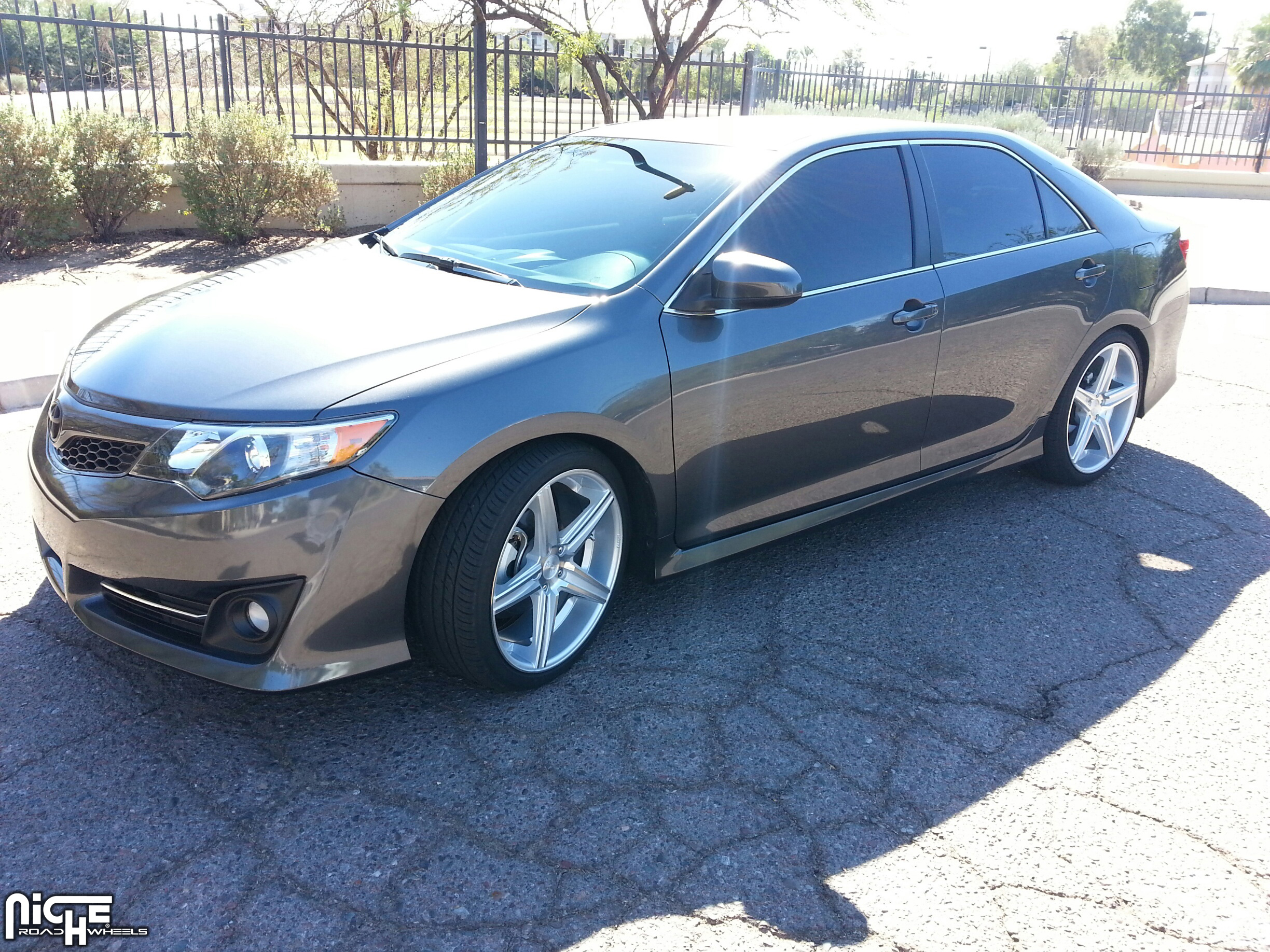 2014 Toyota Camry Aftermarket Wheels