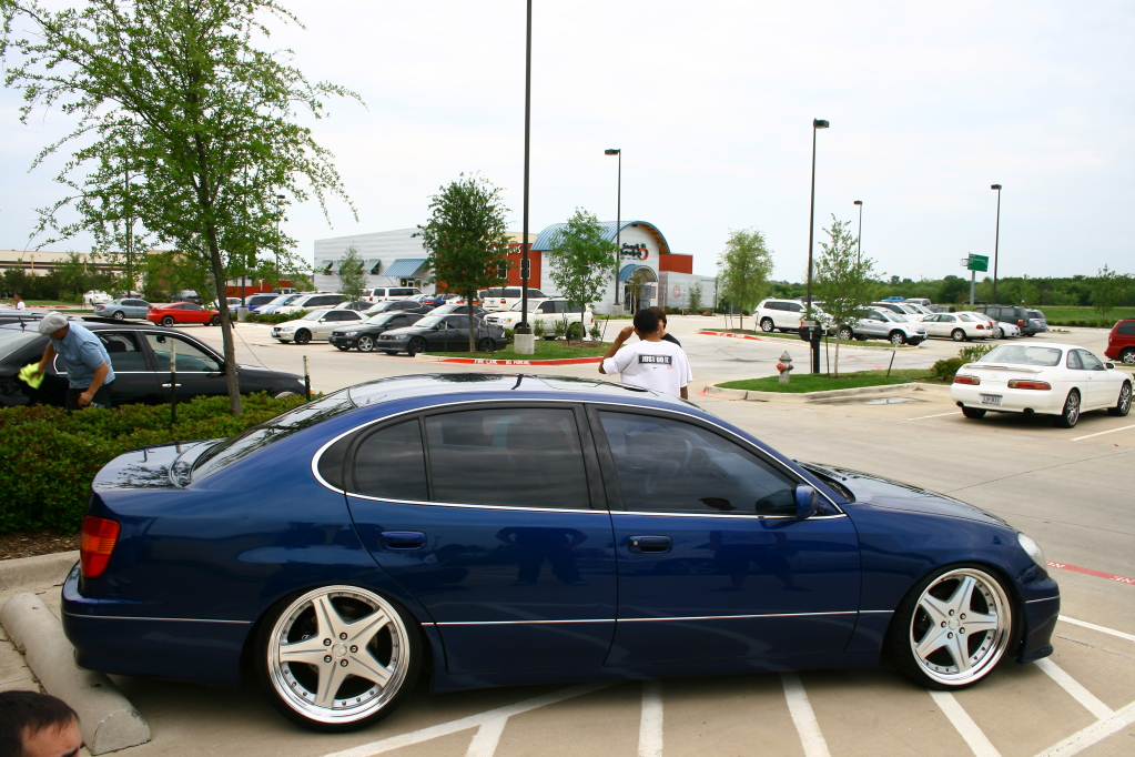 photo 5 Lexus  GS 400 custom wheels WORK Euroline SL 20x8.5, ET +19, tire size 225/30 R20. 20x9.5 ET+9 235/35 R20