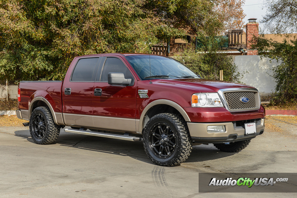 ford f-150 custom wheels hostage d531 20x9.0, et , tire size 275/60