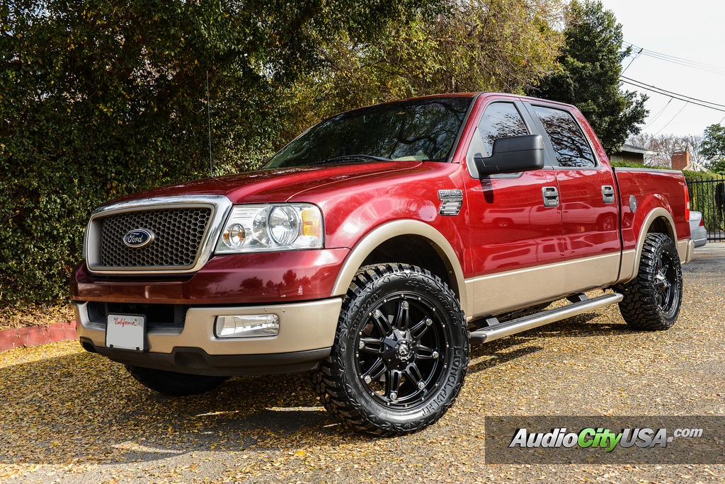 ford f 150 custom wheels hostage d531 20x9 0 et tire size 275 60 r20 x et. Black Bedroom Furniture Sets. Home Design Ideas