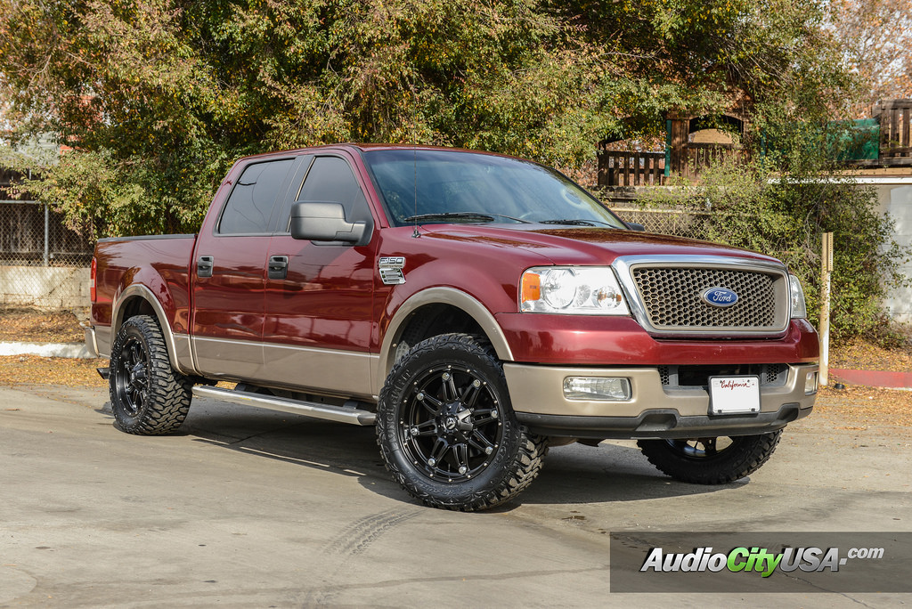 Ford F-150 custom wheels Hostage D531 20x9.0, ET , tire ...