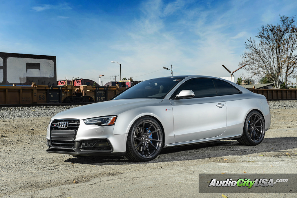 Audi S5 Custom Wheels Stance Sf01 20x10 5 Et Tire Size