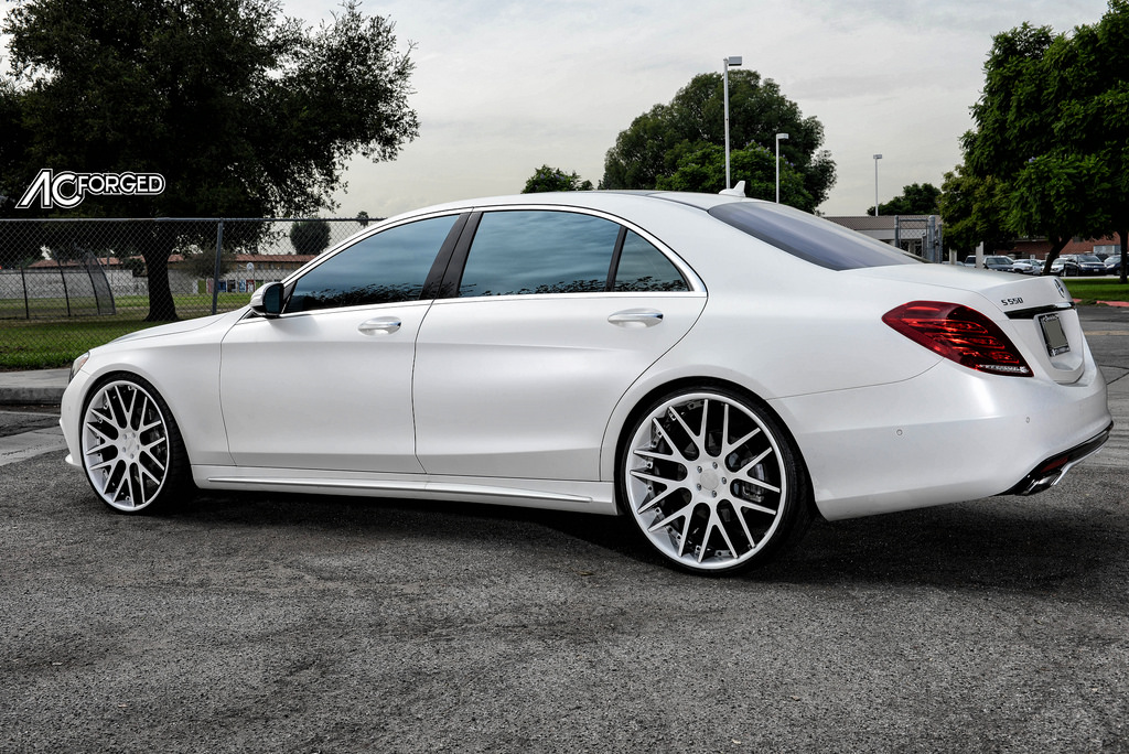 Mercedes-Benz S-Class custom wheels AC ACR 413 24x9.0, ET ...