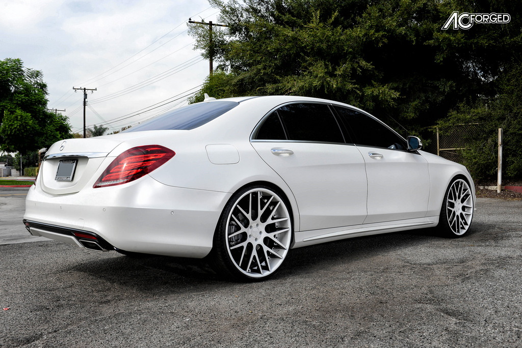 Mercedes benz s class custom wheels ac acr 413 24x9 0 et for Mercedes benz tire sizes