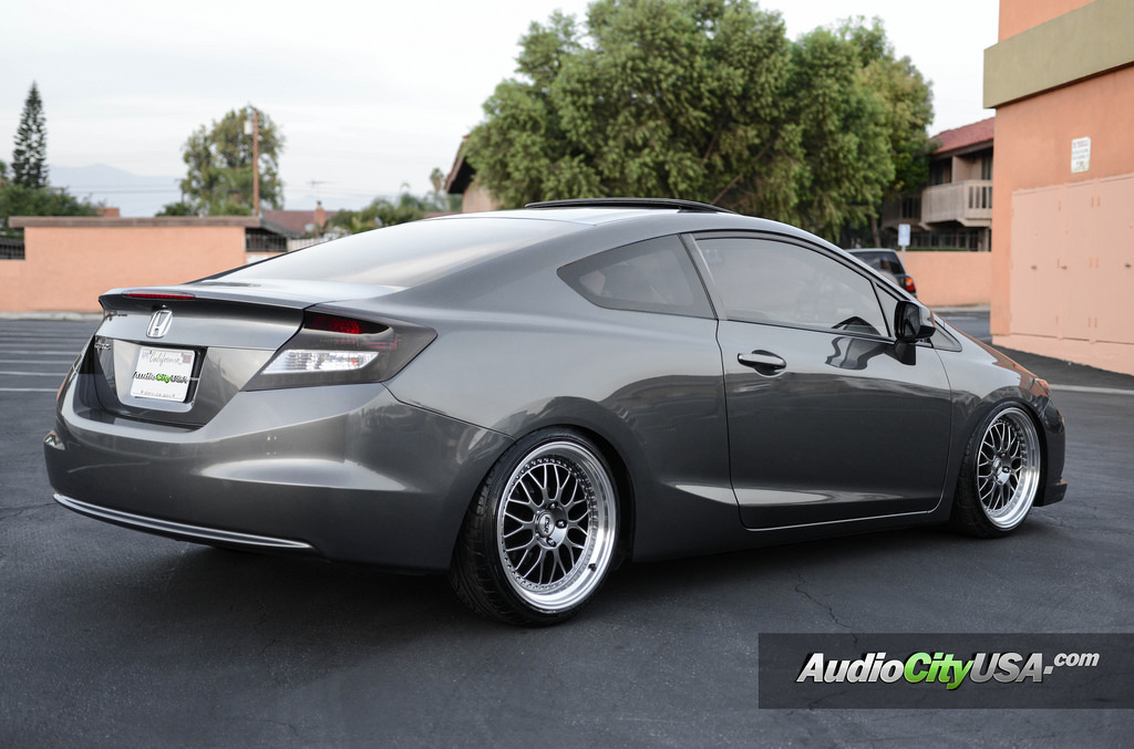 Honda Civic Custom Wheels Esr Sr 01 18x8 5 Et Tire Size