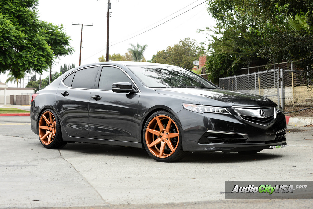Acura TLX Custom Wheels Rennen CRL X ET Tire Size - Tires for 2018 acura tl