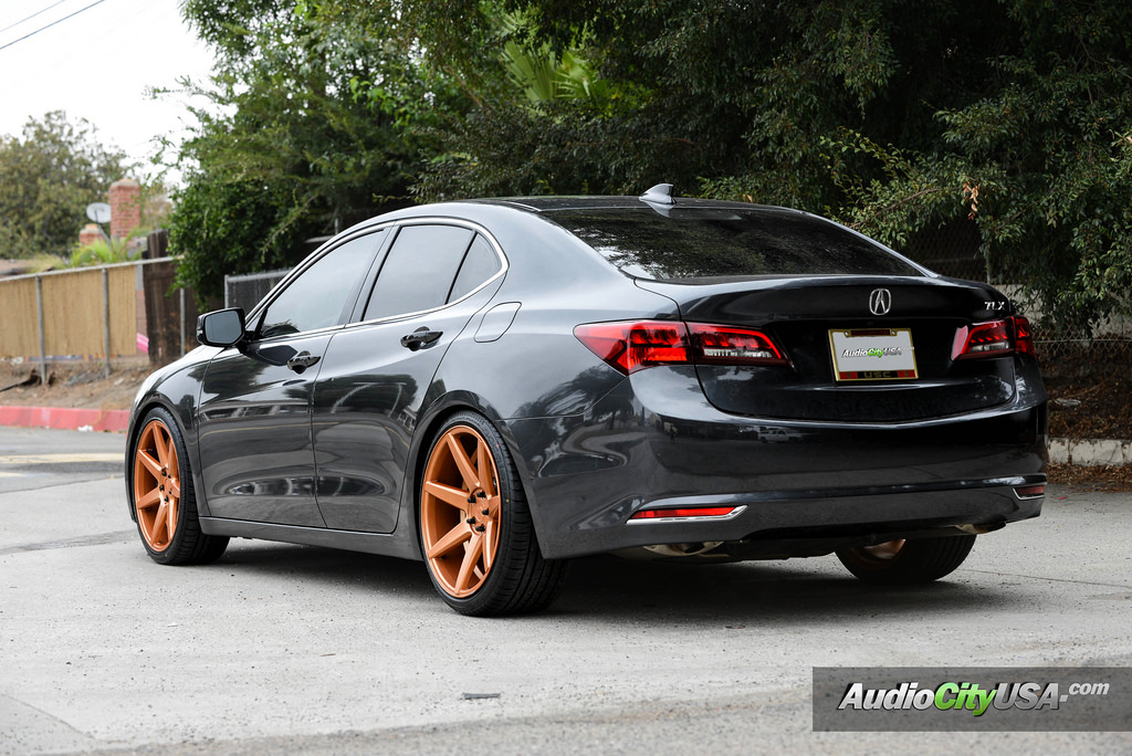 Acura TLX custom wheels Rennen CRL 70 20x8.5, ET , tire ...