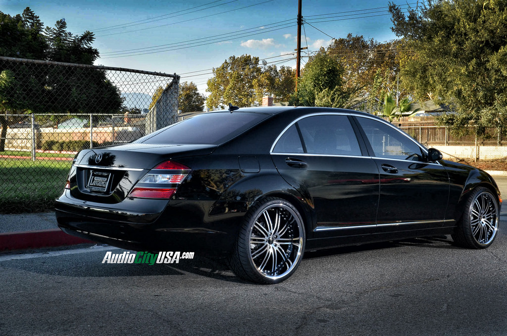 Mercedes benz s class custom wheels vertini hennessey 22x9 for Mercedes benz tire sizes