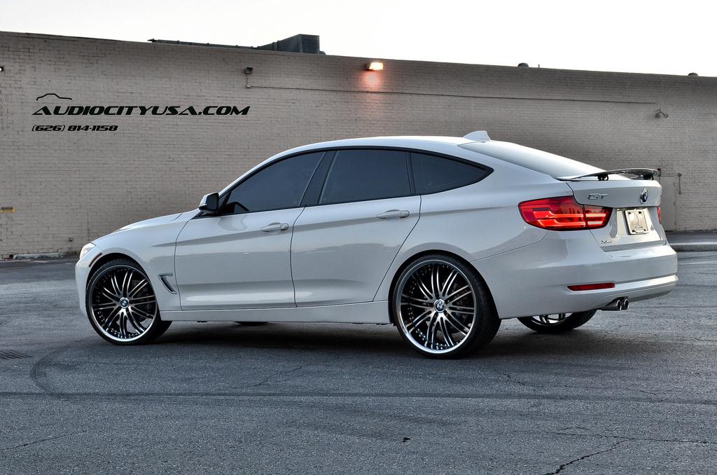 BMW 328 Gran Turismo custom wheels XIX X23 22x, ET , tire ...