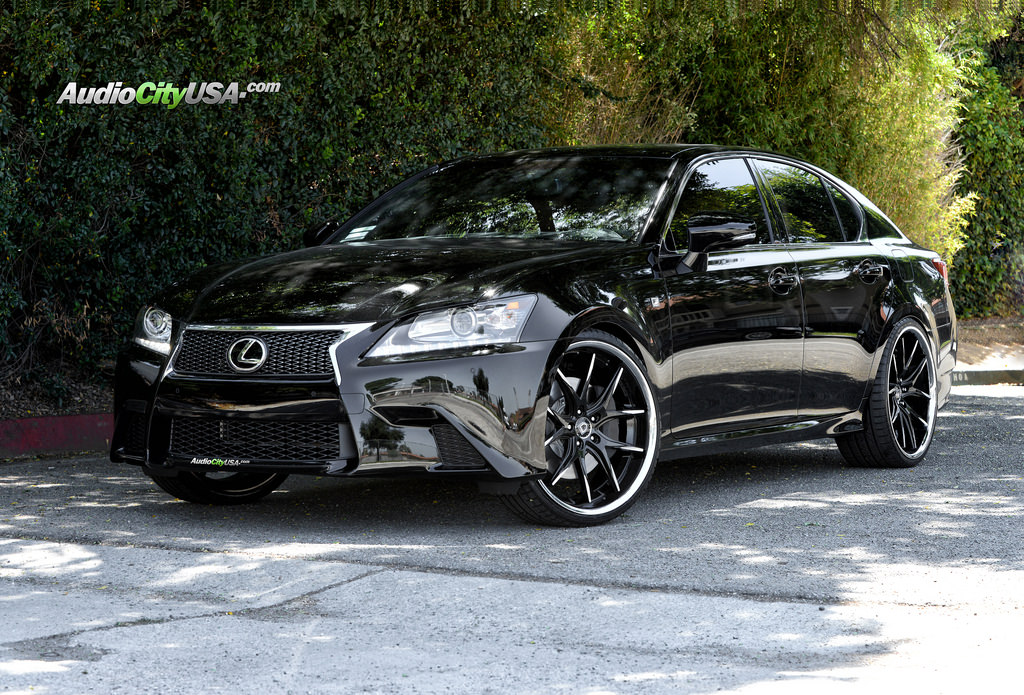 Lexus Gs 350 Custom Wheels Lexani R Twelve 22x9 0 Et