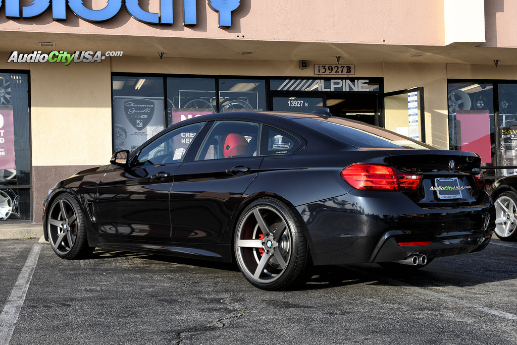 Bmw 428 Custom Wheels Str 607 20x Et Tire Size 245 35
