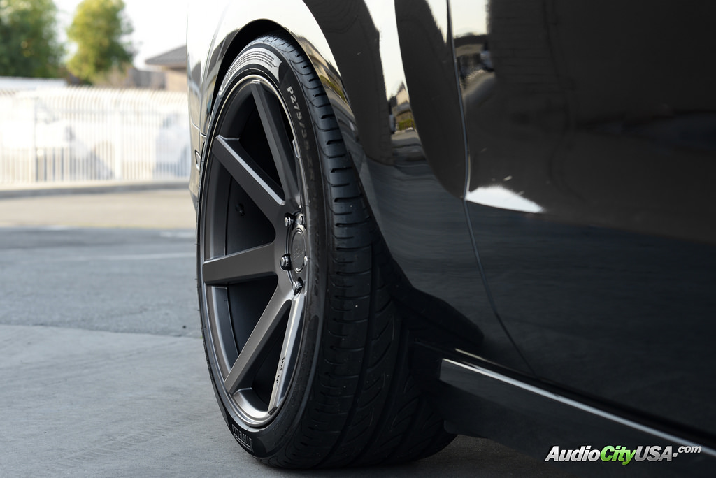 Ford Mustang Custom Wheels Niche Verona Anthracite M149