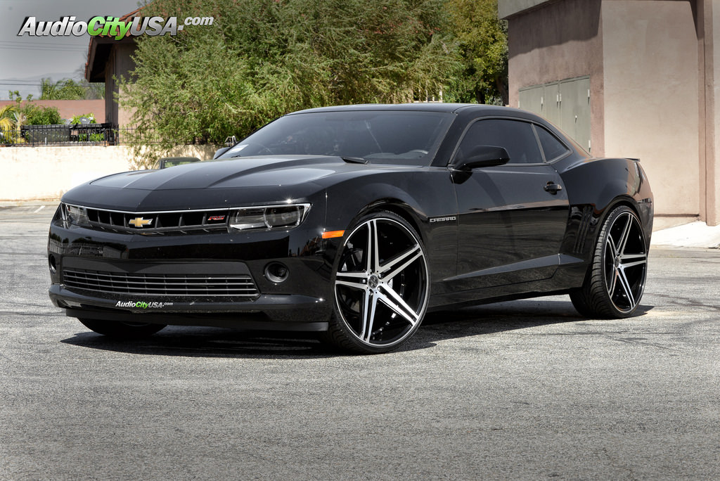 Chevrolet Camaro Custom Wheels Versante 233 24x10 0 Et