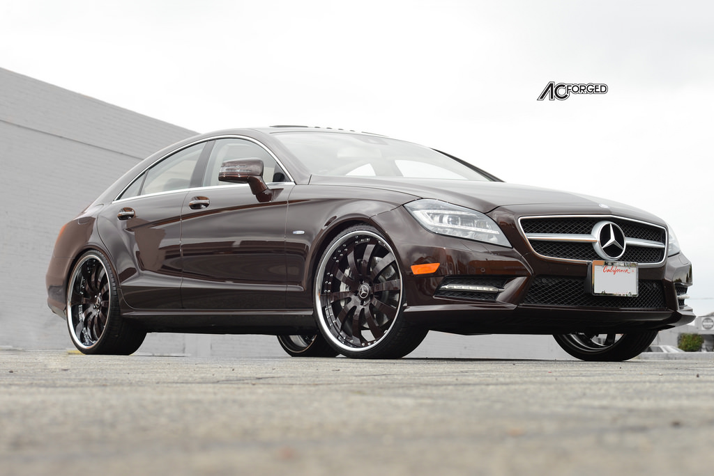 Mercedes benz cls class custom wheels ac 310 22x8 5 et for Mercedes benz tire sizes