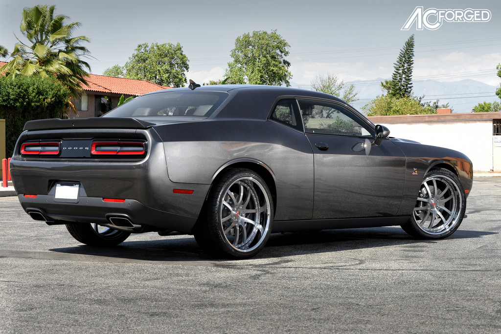 Dodge Challenger custom wheels AC 312 22x9.0, ET , tire ...