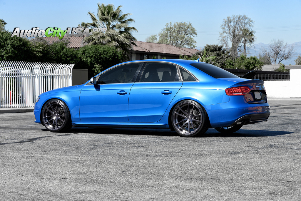 Audi S4 Custom Wheels Stance Sc1 20x10 0 Et Tire Size