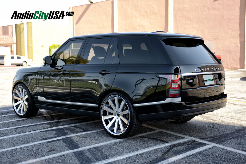 Land Rover Range Rover Custom Wheels Gianelle Santo 2 Ss