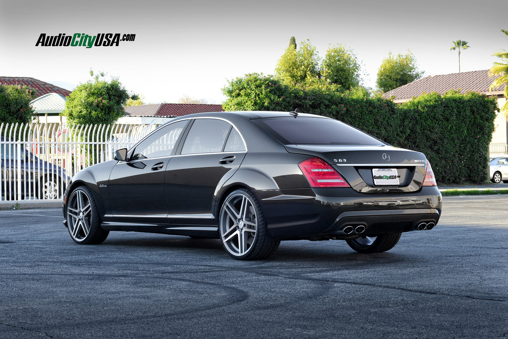 Mercedes benz s class custom wheels road force rf005 22x9 for Mercedes benz tire sizes