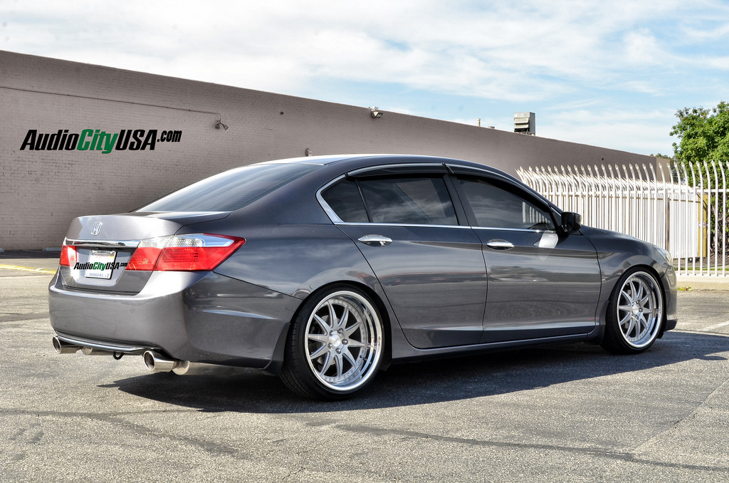 Honda Accord Custom Wheels Rennen Csl 1 20x8 5 Et Tire
