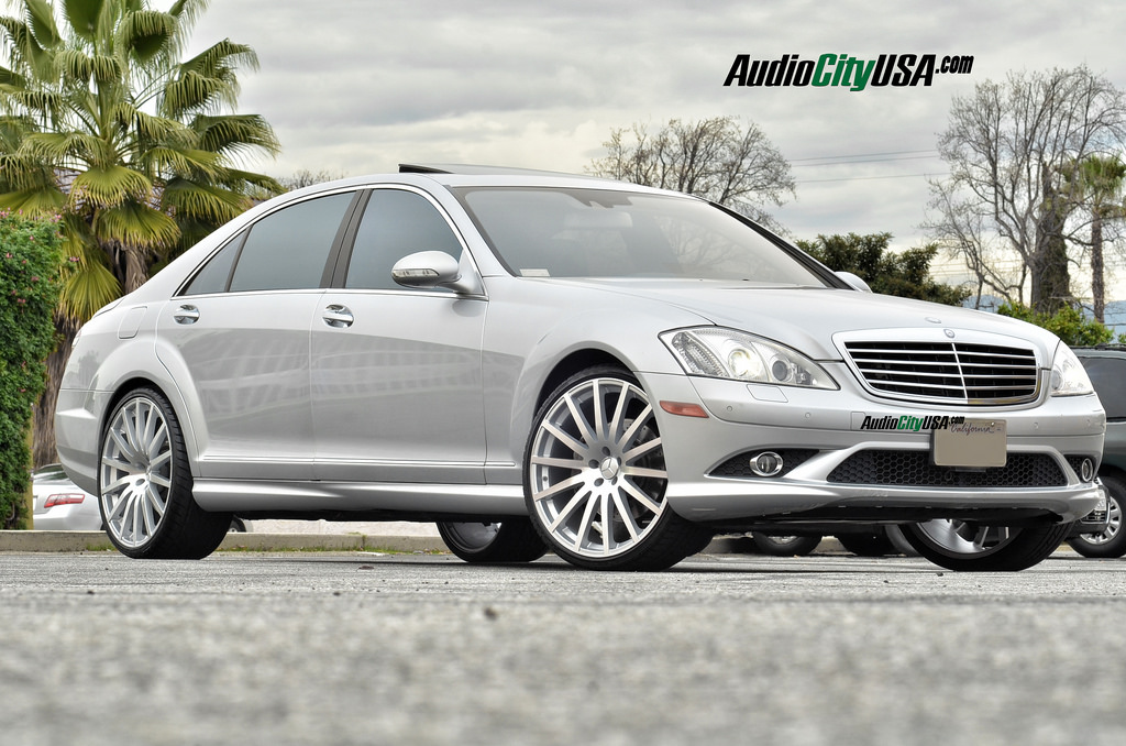 Mercedes benz s class custom wheels road force rf 14 22x9 for Mercedes benz tire sizes