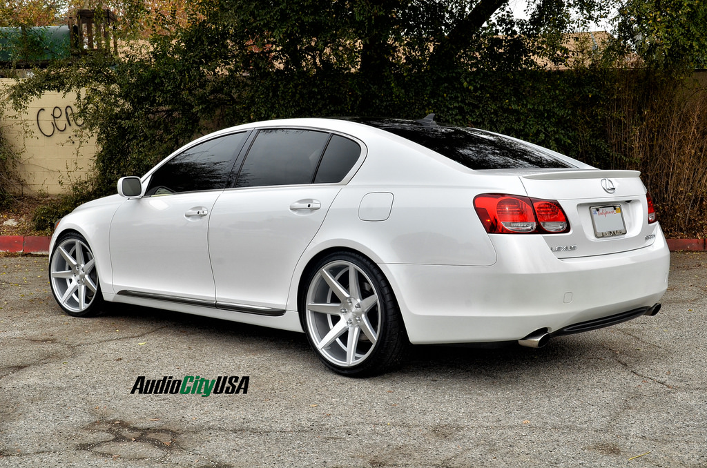 Lexus Gs 350 Custom Wheels Rennen Crl 70 20x8 5 Et Tire