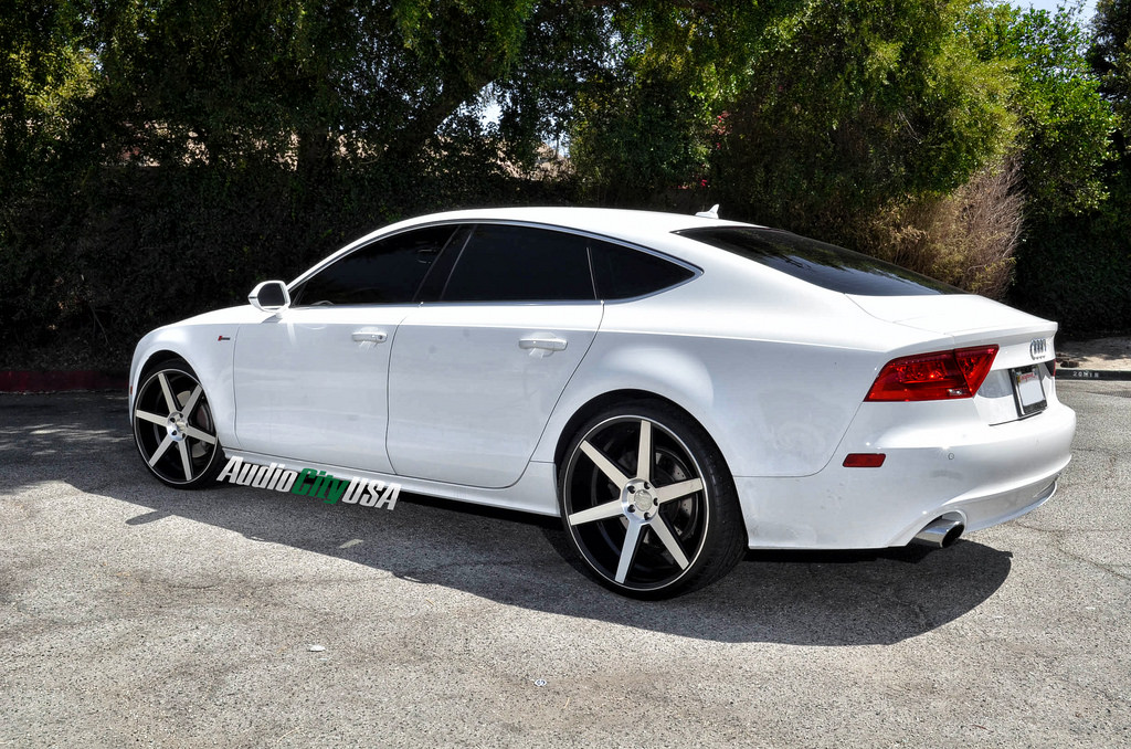 Audi A7 Custom Wheels Azad Z84 22x9 0 Et Tire Size 235
