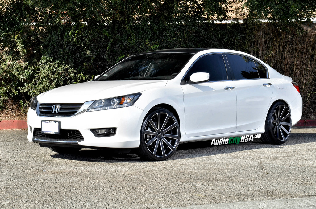 Honda Accord Custom Wheels Gianelle Santoneo 20x8 5 Et