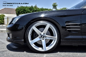 Chrysler  Crossfire tire size