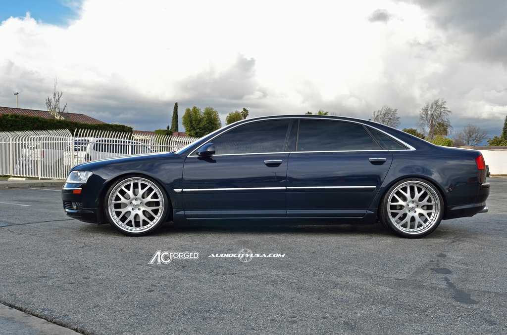 Audi A8 Custom Wheels Ac 818 22x9 0 Et Tire Size 245 30