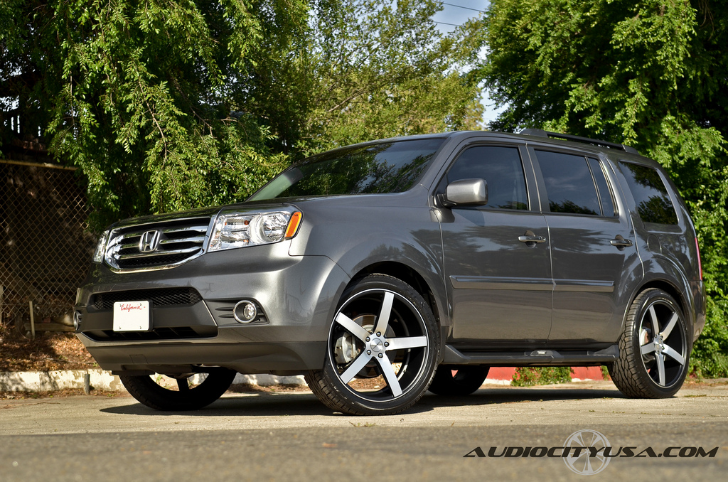 2013 Honda Pilot Custom Wheels Autos Post