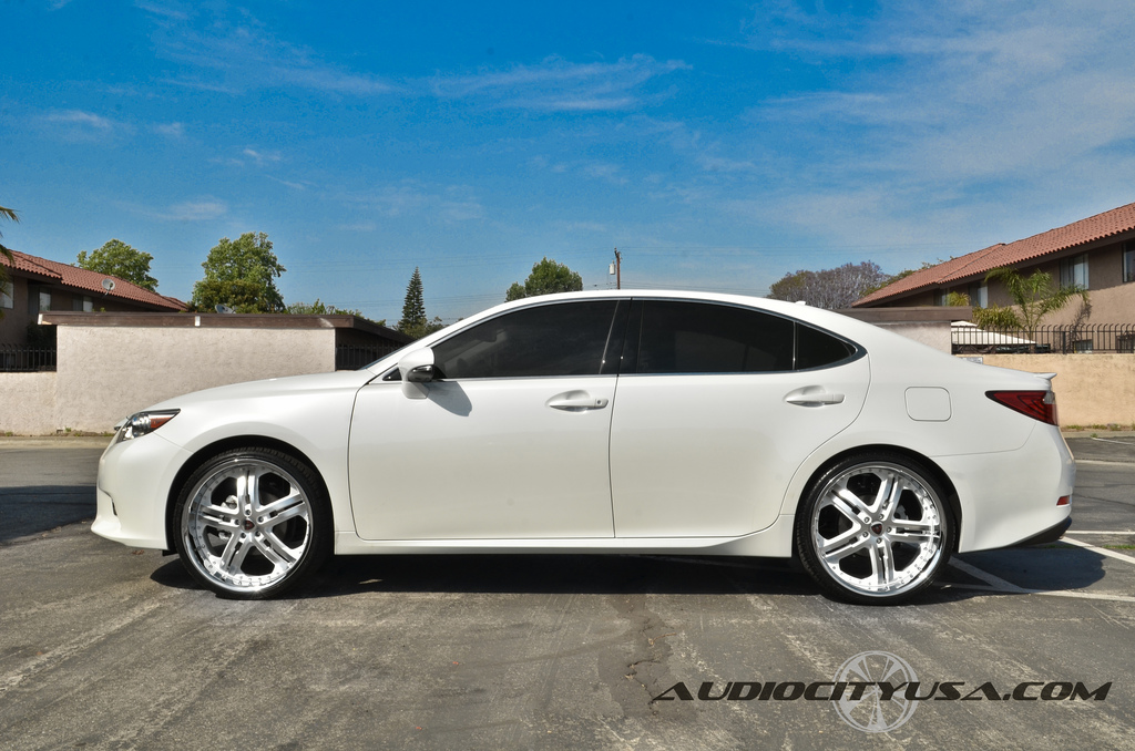 lexus es 350 custom wheels merceli m6 22x8 5 et tire. Black Bedroom Furniture Sets. Home Design Ideas