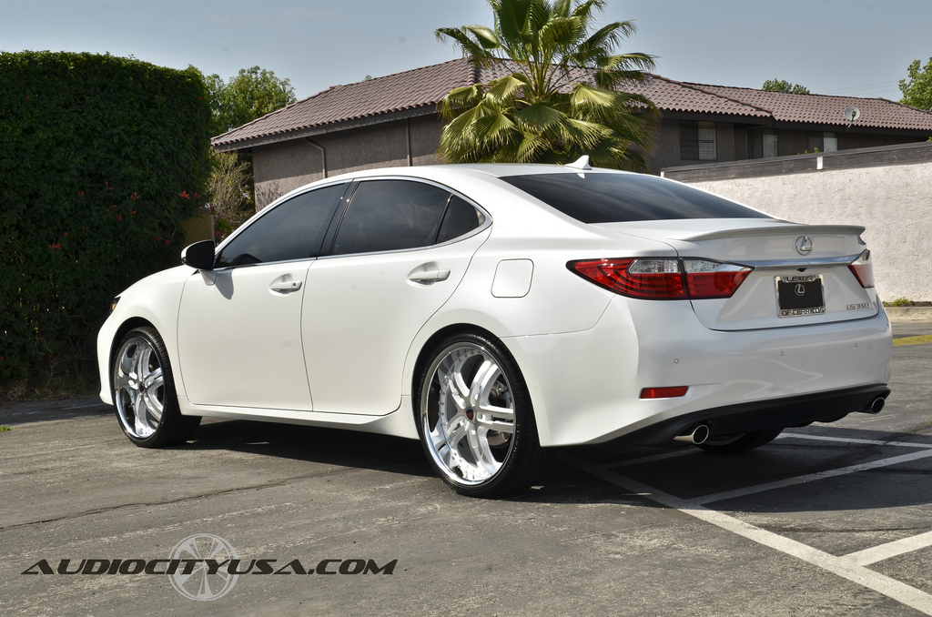 Lexus Es 350 Custom Wheels Merceli M6 22x8 5 Et Tire