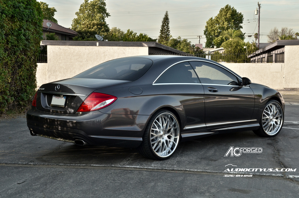 Mercedes benz cl class custom wheels ac 313 22x9 0 et for Mercedes benz tire sizes