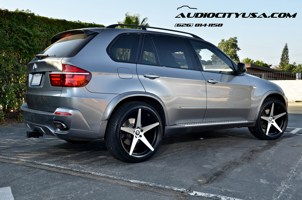 Bmw X5 Custom Wheels Blaque Diamond Bd 300 22x10 5 Et