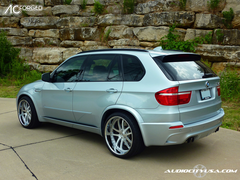 Bmw X5 M Custom Wheels Ac 312 22x10 0 Et Tire Size 295