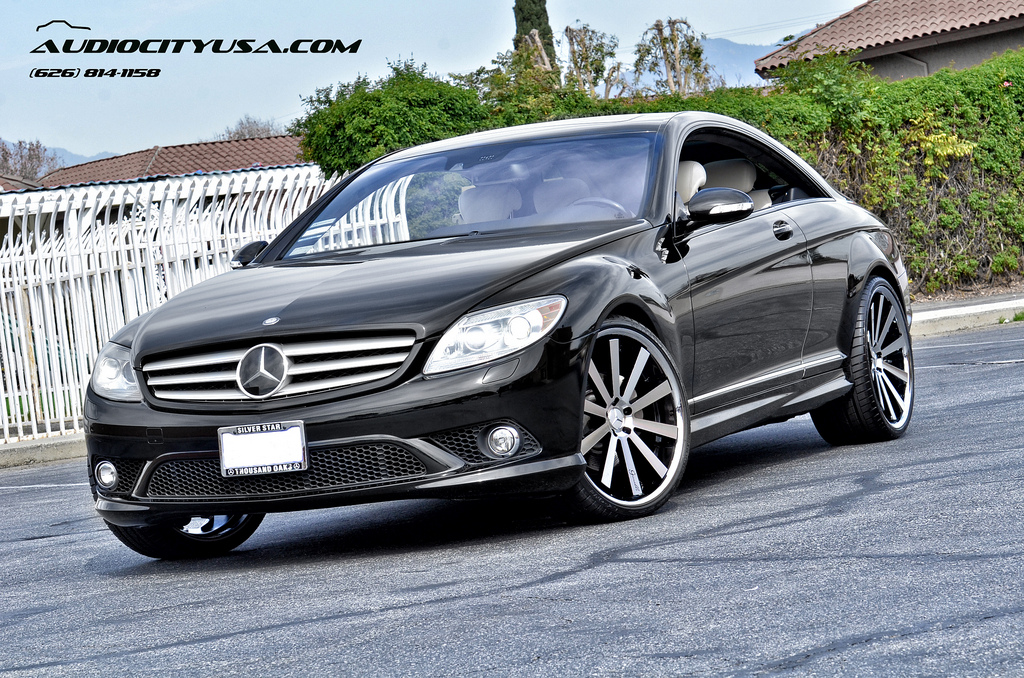 Mercedes benz cl class custom wheels gianelle santo 2 ss for Mercedes benz tire sizes