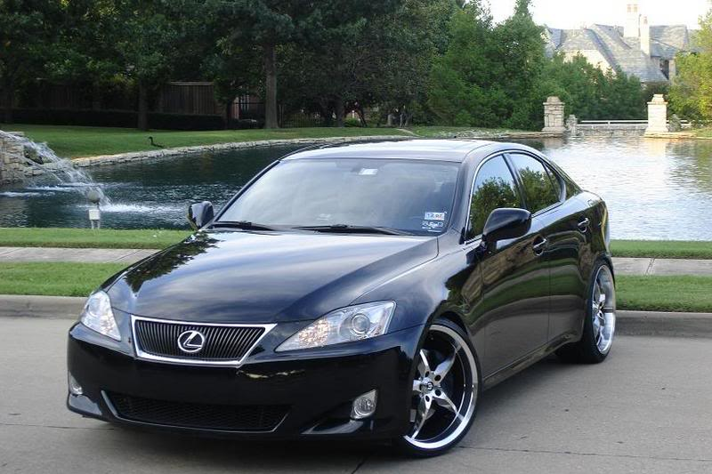 lexus is 350 custom wheels stern stern st 6 yoshi 20x8 5. Black Bedroom Furniture Sets. Home Design Ideas