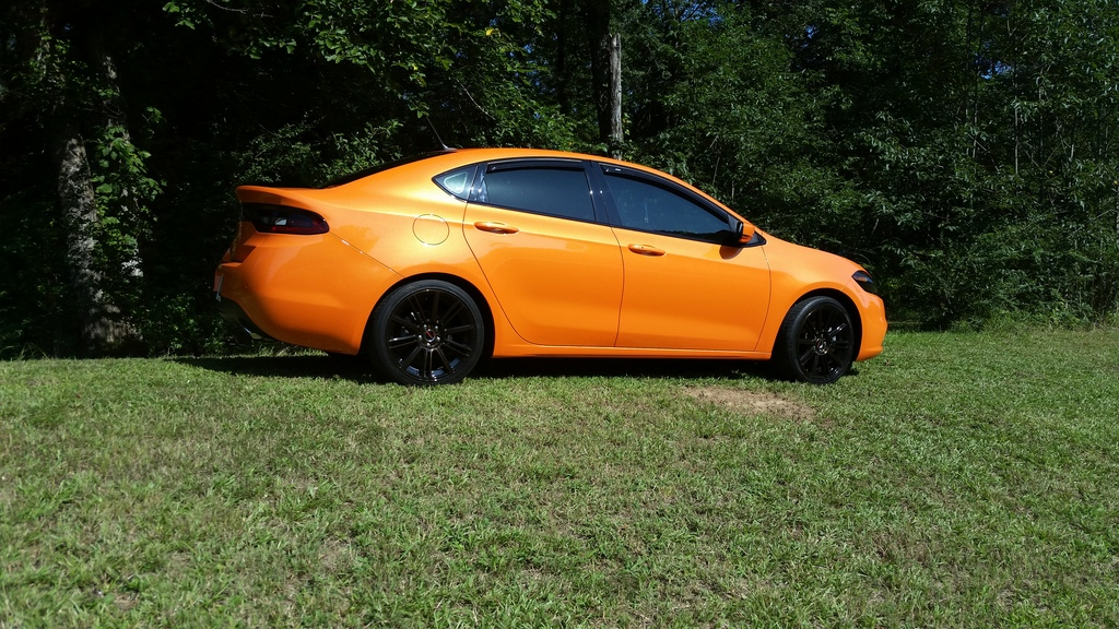 Dodge Dart Tire Size >> Dodge Dart custom wheels GWG Flow 18x8.0, ET , tire size / R18. x ET