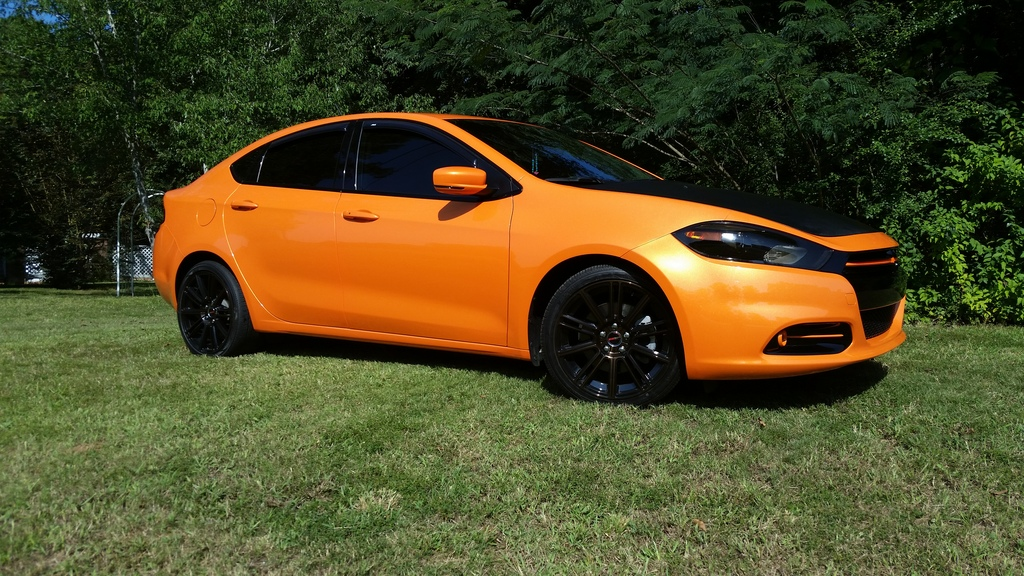 dodge dart custom wheels gwg flow 18x8 0 et tire size r18 x et. Black Bedroom Furniture Sets. Home Design Ideas