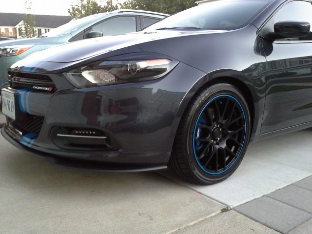 Dodge Dart Tire Size >> Dodge Dart custom wheels Rage 20 18x8.0, ET +40, tire size 235/45 R18. x ET