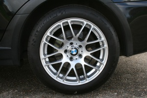 BMW X3 tire size
