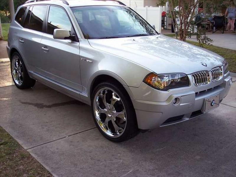 Photo 1 BMW X3 Custom Wheels 22x ET Tire Size R22 X