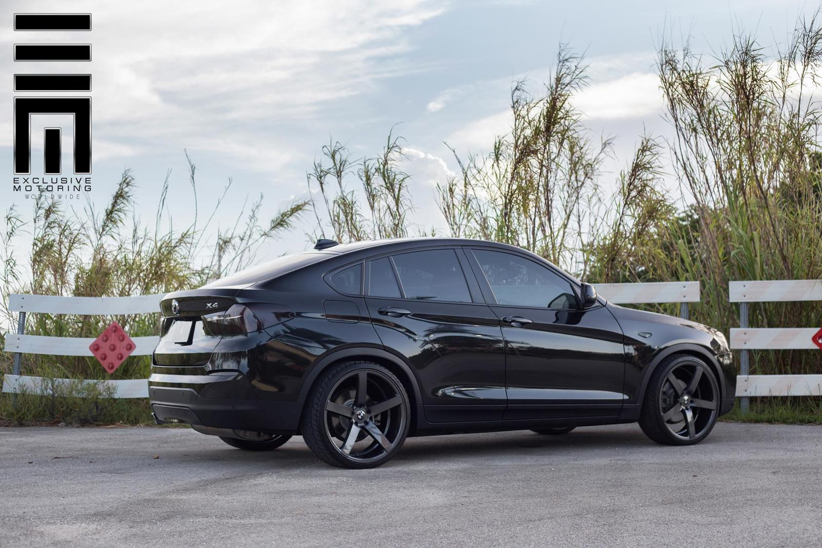 BMW X4 custom wheels Vossen CV3 22x9.0, ET , tire size ...