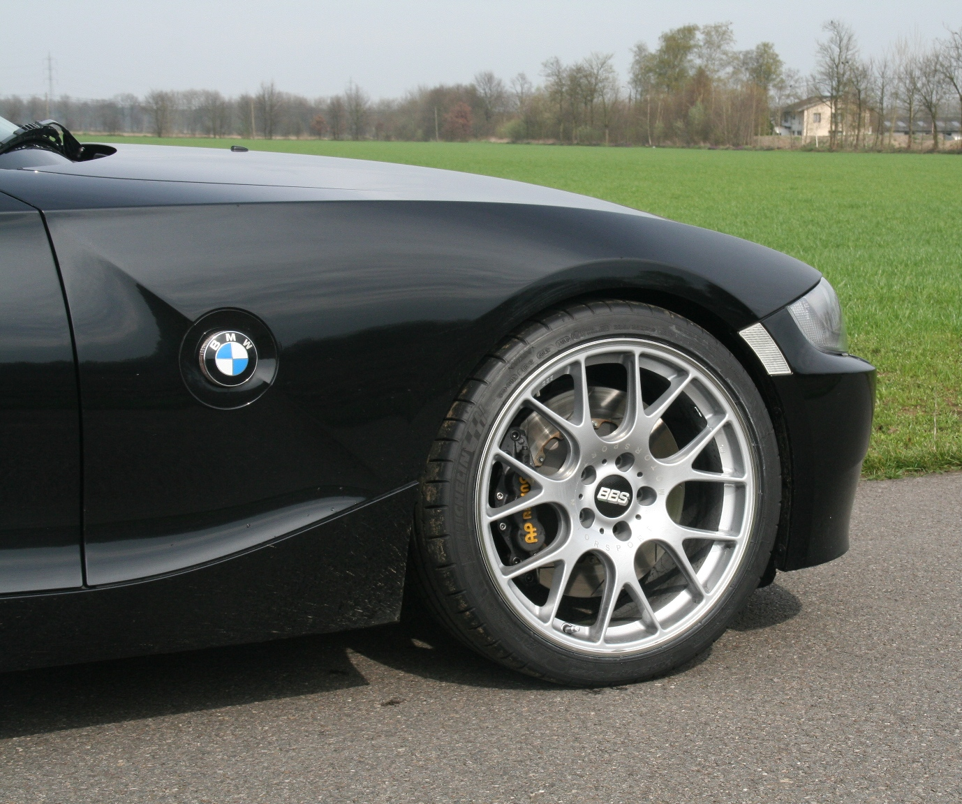 Bmw Z4 Custom Wheels: BMW Z4 Custom Wheels BBS CH-R 19x, ET , Tire Size 235/35