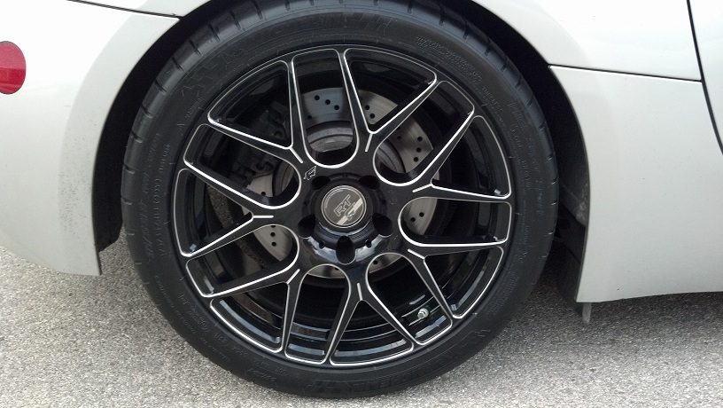 Bmw Z4m Custom Wheels Falken Rt 7 19x Et Tire Size R19 X Et